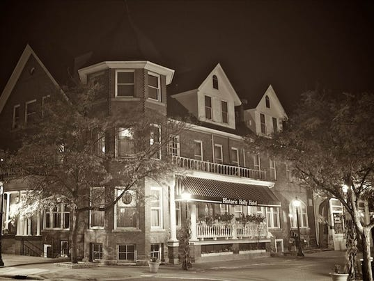 Holly Hotel at Night Haunted Dining