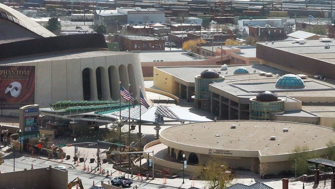 City officials are now looking at the El Paso convention center site in Downtown El Paso as a possible location for a new multipurpose arena.