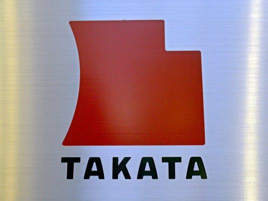 Logo for airbag maker Takata