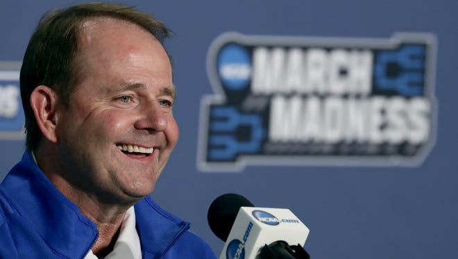 Kermit Davis led Middle Tennessee State to three NCAA Tournament appearances in 16 seasons.