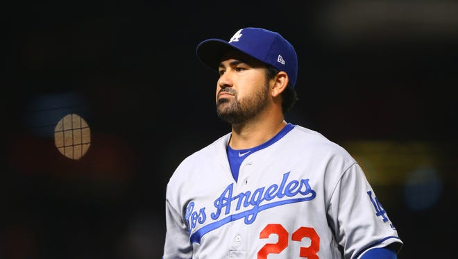 Adrian Gonzalez is batting .242 with 30 RBI in 71 games this season.