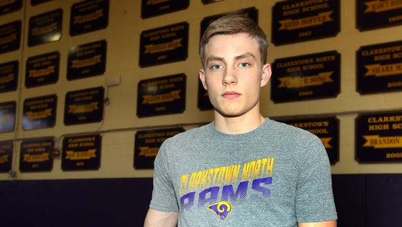Clarkstown North's Nick Ovchinnikoff, who is the Boys
