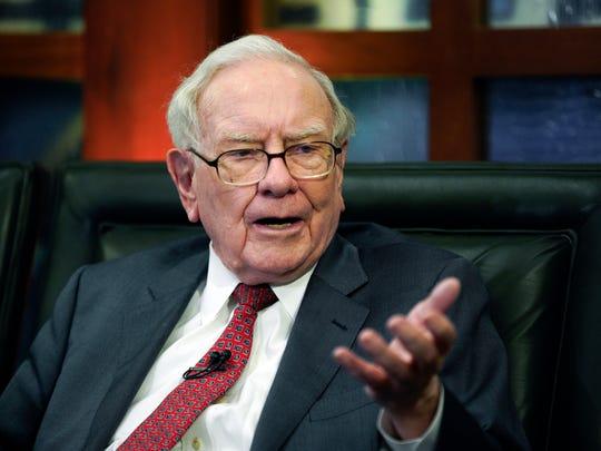 Warren Buffett's Berkshire Hathaway will invest $10 billion in Occidental Petroleum if the company is successful in its rival bid for Anadarko Petroleum. Chevron previously made a $33 billion bid for the oil company.