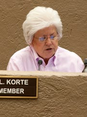 Scottsdale Councilwoman Virginia Korte has been a vocal