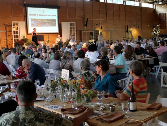Guests at the 2017 Marion-Polk Food Share Farm to Table