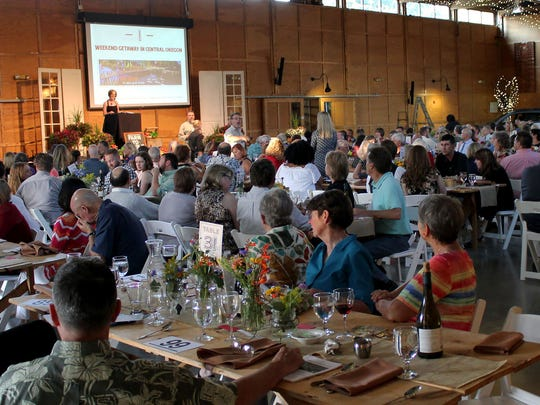 Guests at the 2017 Marion-Polk Food Share Farm to Table Event