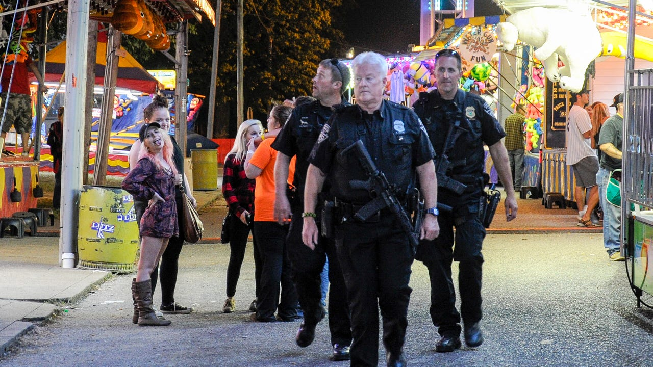 What goes into security during the Fall Festival