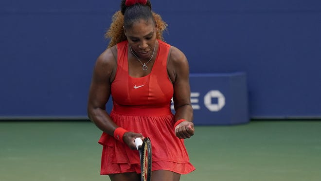 Having dropped the first set, Serena Williams turned things around against Sloane Stephens on Saturday.