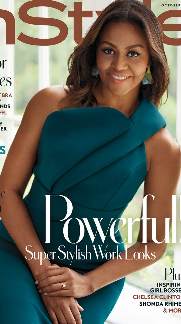 Michelle Obama Stuns In Brandon Maxwell On Cover Of 39 Instyle 39