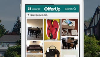 A screenshot of the app for OfferUp.