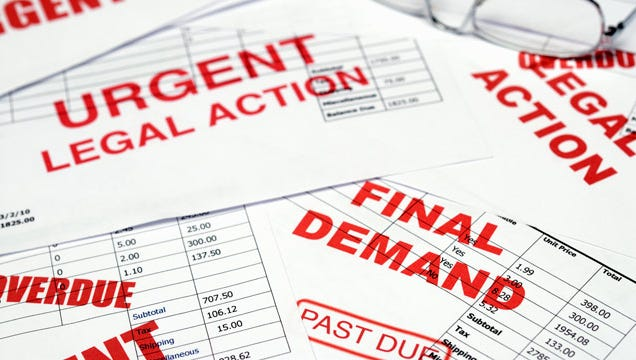 """Heavy-handed and illegal tactics to collect """"phantom debts"""" have landed six companies in hot water."""