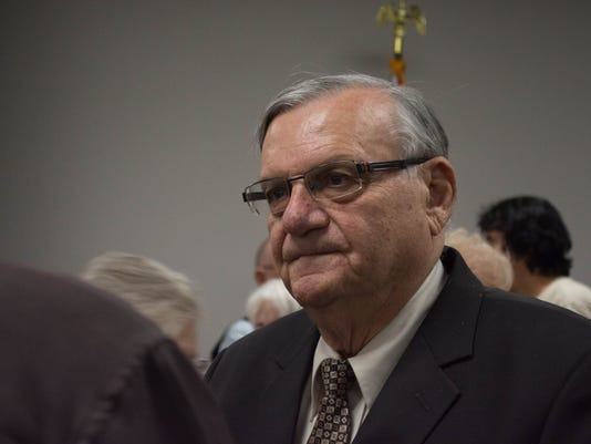 Sheriff Arpaio and Surprise Tea Party