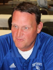 First-year Detroit Catholic Central coach Dan Anderson