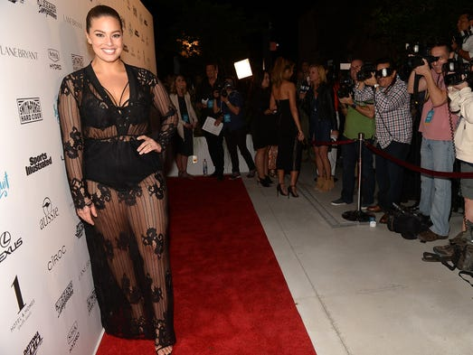 Model Ashley Graham has made her mark in an industry