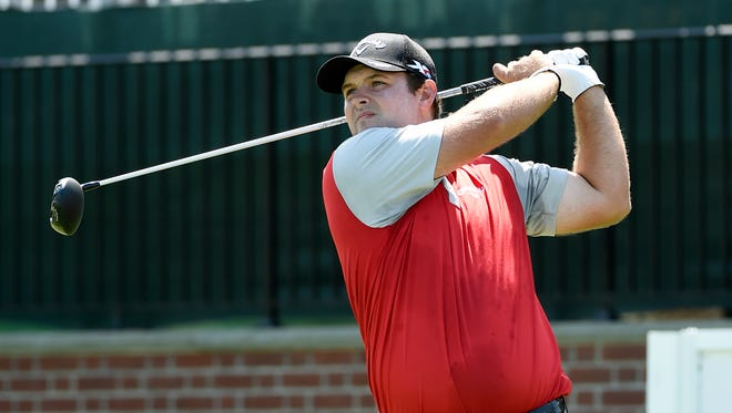 Patrick Reed is at 8-under 134 after two rounds at The Barclays.