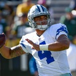 Dak Prescott breaks Tom Brady's record for most pass attempts without interception to start a career
