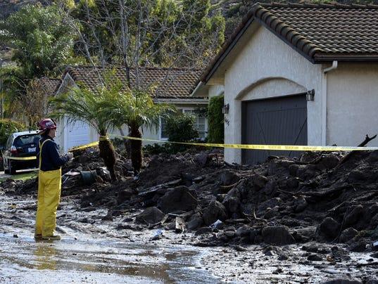 EPA USA CALIFORNIA ROCK SLIDE DIS DISASTERS (GENERAL) USA CA