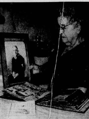 A story in the Burlington Free Press on Dec. 7, 1966 — the 25th anniversary of the attack on Pearl Harbor — features an interview with Eva Andrews, whose son Brainerd was on the USS Arizona and was killed.