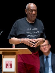 Bill Cosby at Temple University on June 4, 2015.