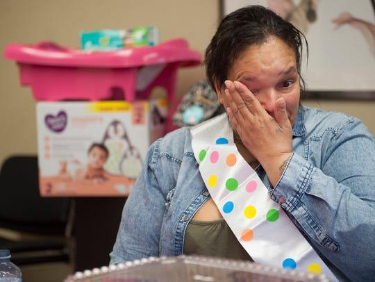 Carmen Delgado, a Camden Healthy Start participant
