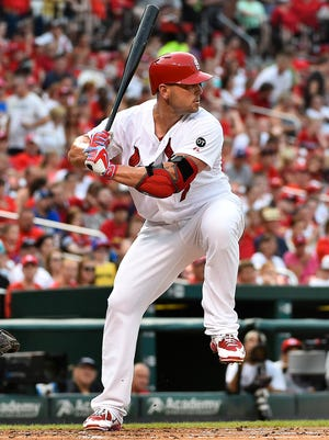 Matt Holliday missed 31 games from June 9 to July 16 with the same injury.