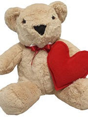 The Stuffington Bear Factory in Phoenix is running specials on Teddy bears for Valentine's Day.