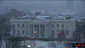 The White House in the snow