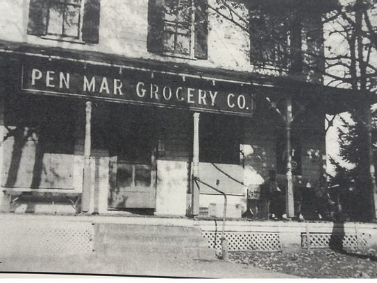Scotland once had several stores, such as Pen Mar Grocery
