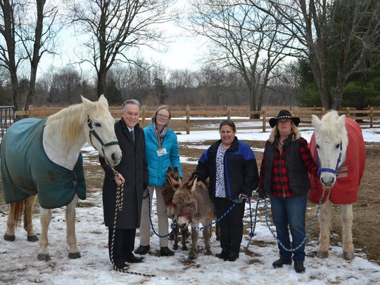 """Carrier Clinic's """"I AM FREED"""" barn opened its doors"""