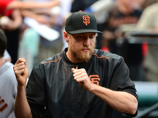 Can the return of Hunter Pence help propel the Giants to yet another even-year World Series win?