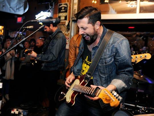 Nashville band Old Dominion lead singer Matthew Ramsey