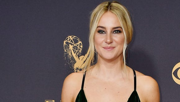 Shailene Woodley attended the 2017 Emmy Awards, where