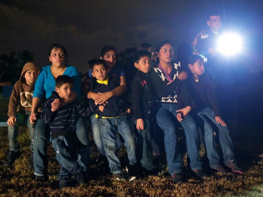 AP IMMIGRATION OVERLOAD TEXAS A FILE USA TX