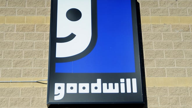 Goodwill sign.