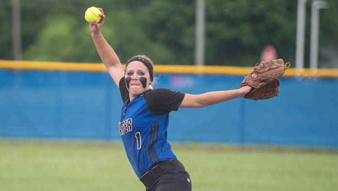 Taylor Shellenberger is one of the top Harper Creek softball players of the decade. The Enquirer names the Top 10 players of the 2010s and asks readers to vote for No. 1