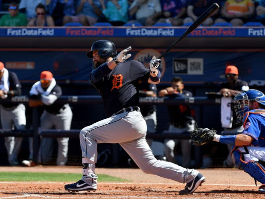 MLB: Spring Training-Detroit Tigers at New York Mets