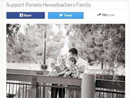 gofundme for Pamela Hesselbacher's family