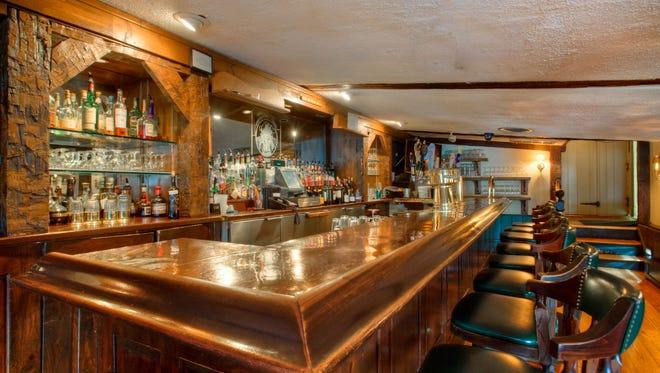 The Coopertop Bar at the Grain House Restaurant in the Olde Mill Inn.