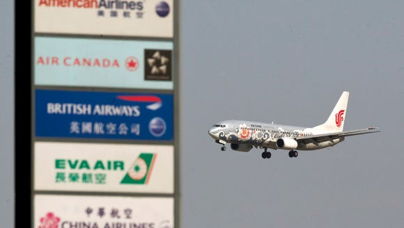 This file photo from May 23, 2012, shows an Air China