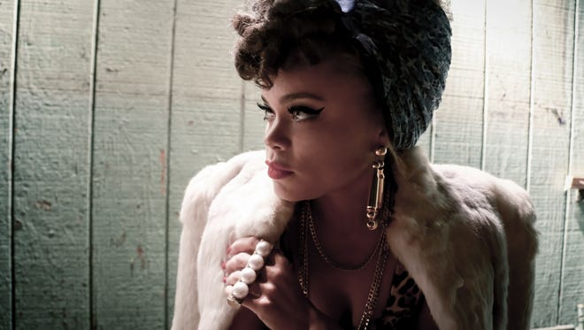 R&B artist Andra Day, 31, is up for two Grammy Awards next month.