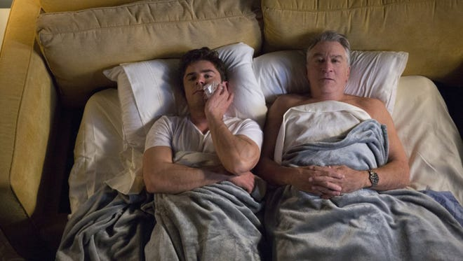 "Zac Efron and Robert De Niro in ""Dirty Grandpa."""