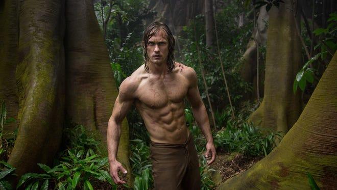 "Alexander Skarsgard in ""The Legend of Tarzan."" (Jonathan Olley/Warner Bros. Entertainment/TNS)"