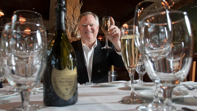 Collier Merrill, co-owner of Merrill Land Company, poses at Jackson's Steakhouse in Pensacola on Monday, December 19, 2016.  Jackson's Steakhouse is one of the fine dining options in Pensacola.