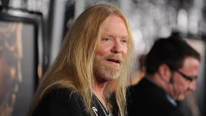 Gregg Allman arrives at the premiere of 'Crazy Heart' in December 2009.