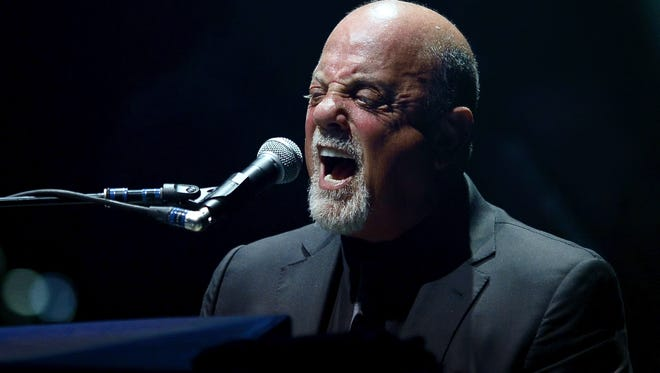 Billy Joel's concert Saturday at Lambeau Field will be the iconic singer-songwriter's first performance in Green Bay. Lambeau is the only NFL stadium on his list of summer shows.