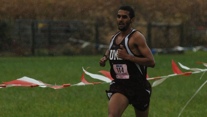 With a year under his belt and a more talented overall group of distance athletes on the team, Khalil Rmidi Kinini dominated the cross-country season, winning the individual conference championship and leading the team to an overall title. He continued to shine during the indoor track season and, after breaking two school records in outdoor competition last weekend, he already holds six UMES marks as just a sophomore.
