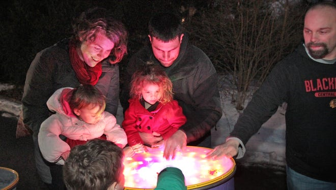 Visit the Indianapolis Museum of Art's Winter Solstice for a fun, free night out with the family.