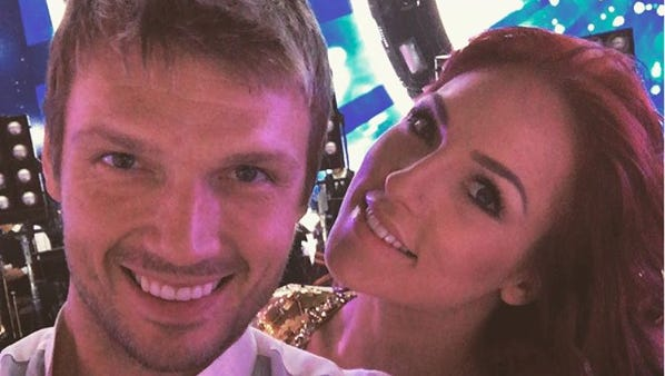 Nick Carter and Sharna Burgess earned a perfect score and immunity on Monday night.