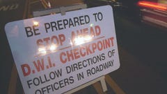 DWI checkpoints in Fair Haven, Deal this weekend