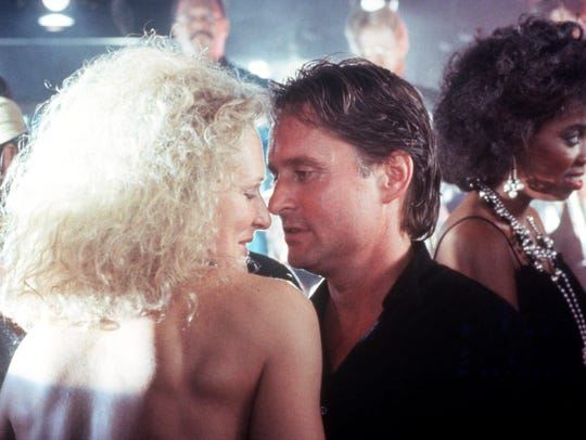 Glenn Close and Michael Douglas from 1987's. The film's